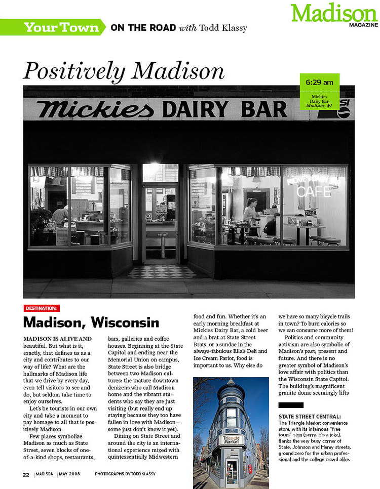 Madison Magazine Article