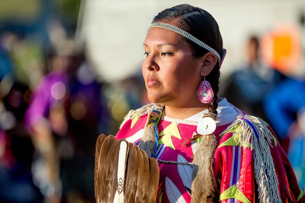 Reverant Powwow Dancer