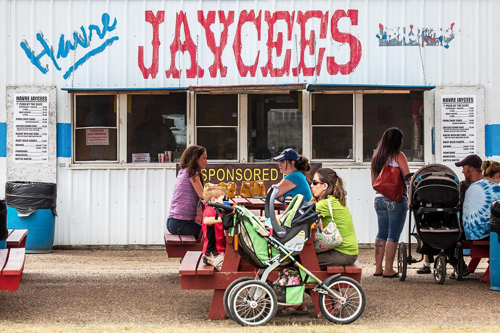 Havre Jaycees at the Fair
