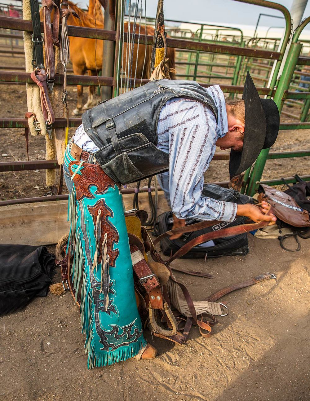 Readying the Saddle