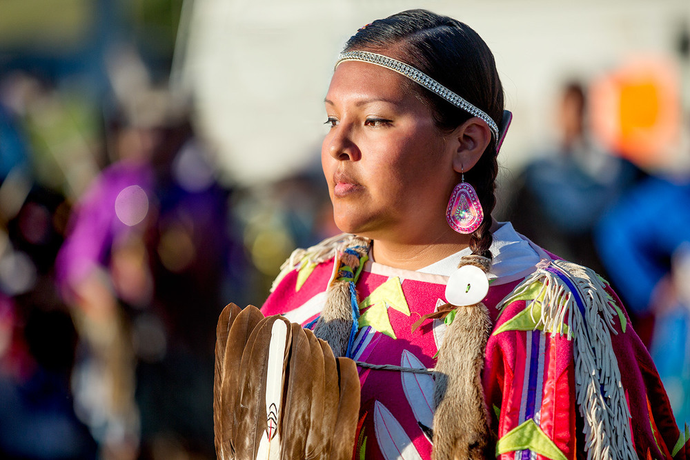 Reverant Pow-wow Dancer