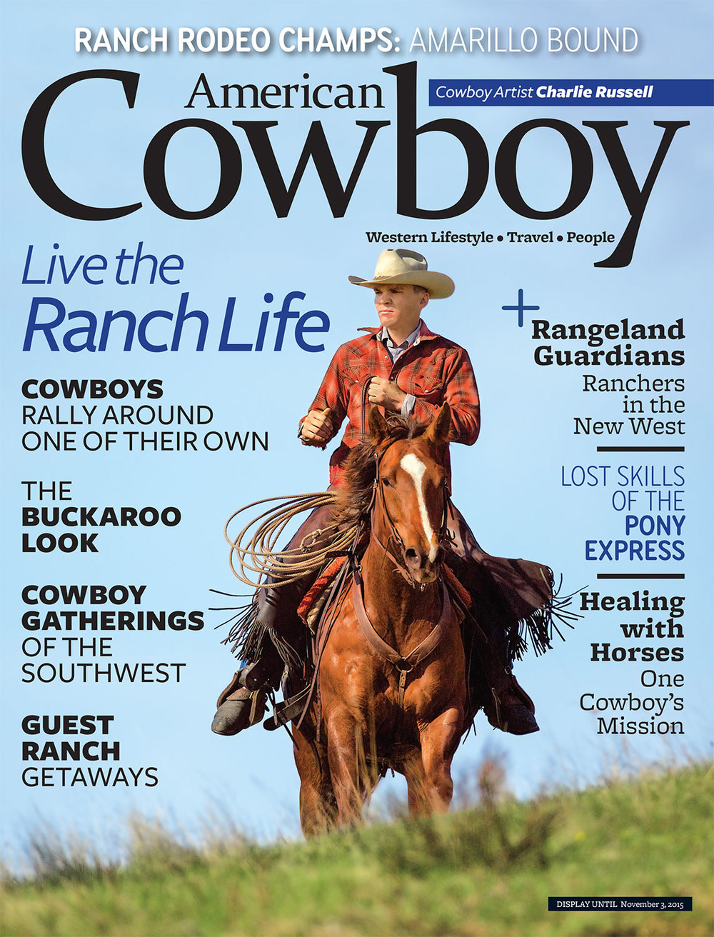 American Cowboy Magazine Cover