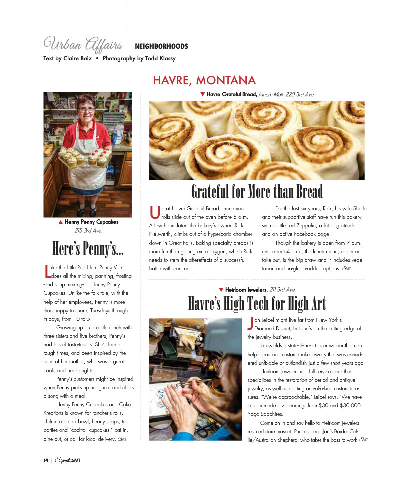 Published in Signature Montana Magazine