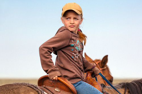 Young Cowgirl Country Kids