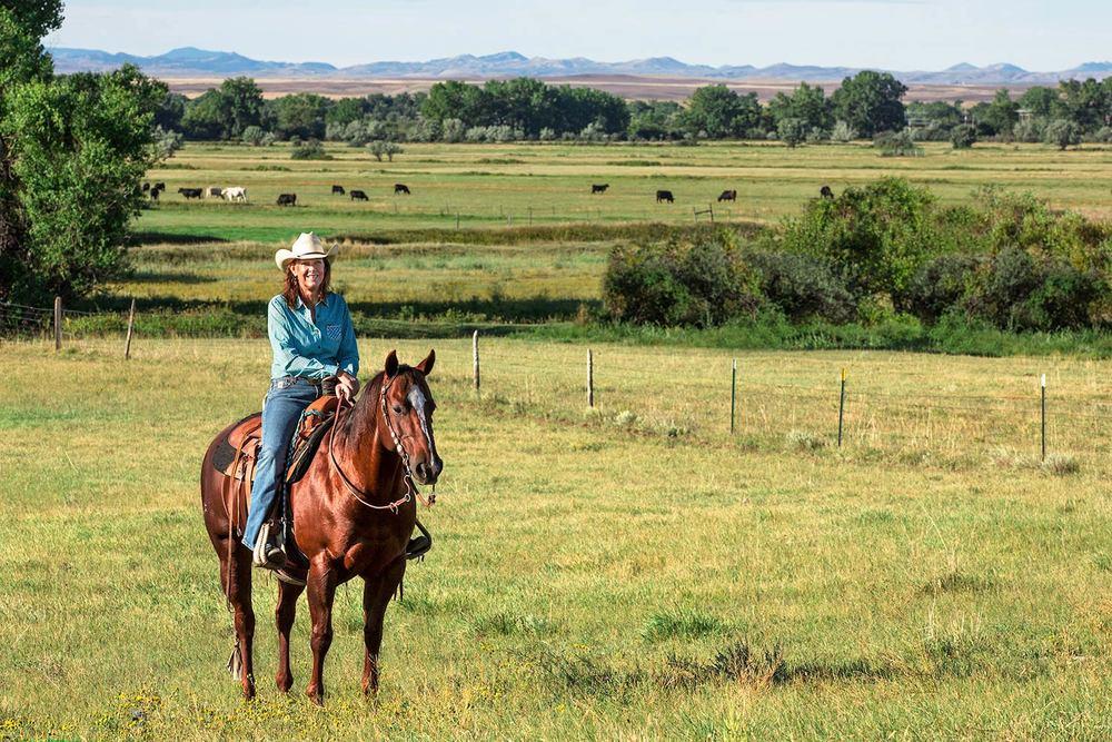 Blaine County Cowgirl