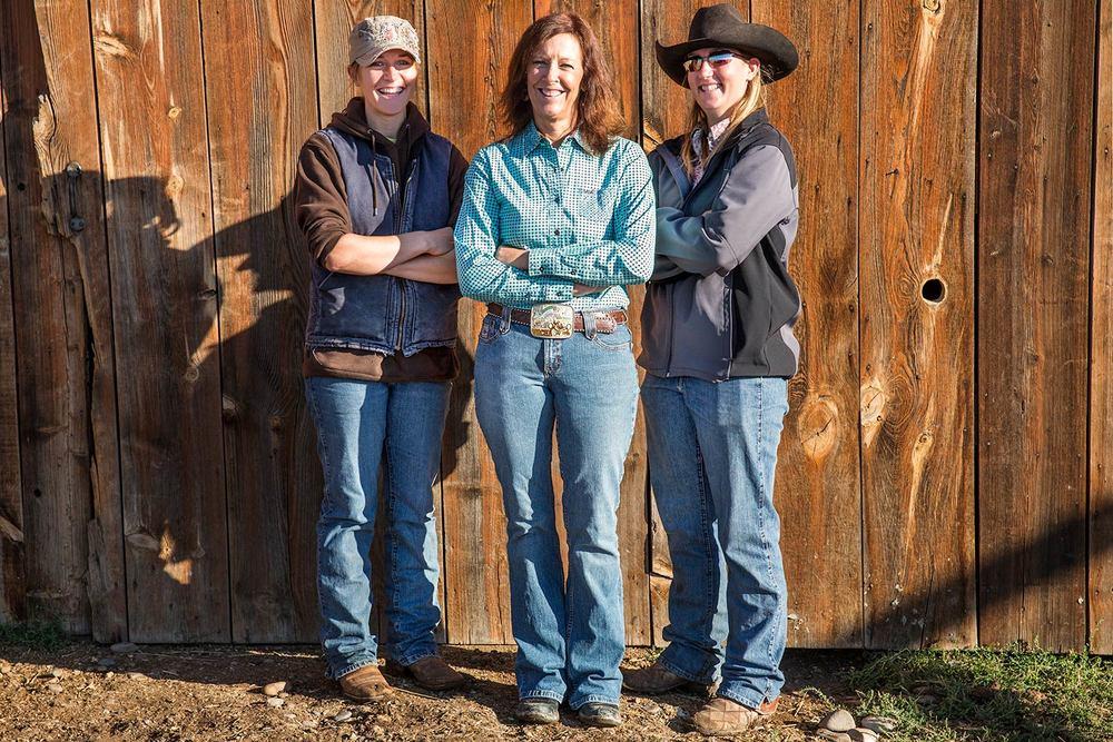 Cowgirls Posing