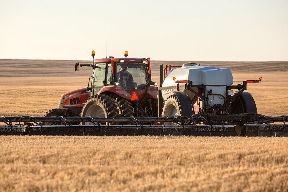 Tractor & Sprayer