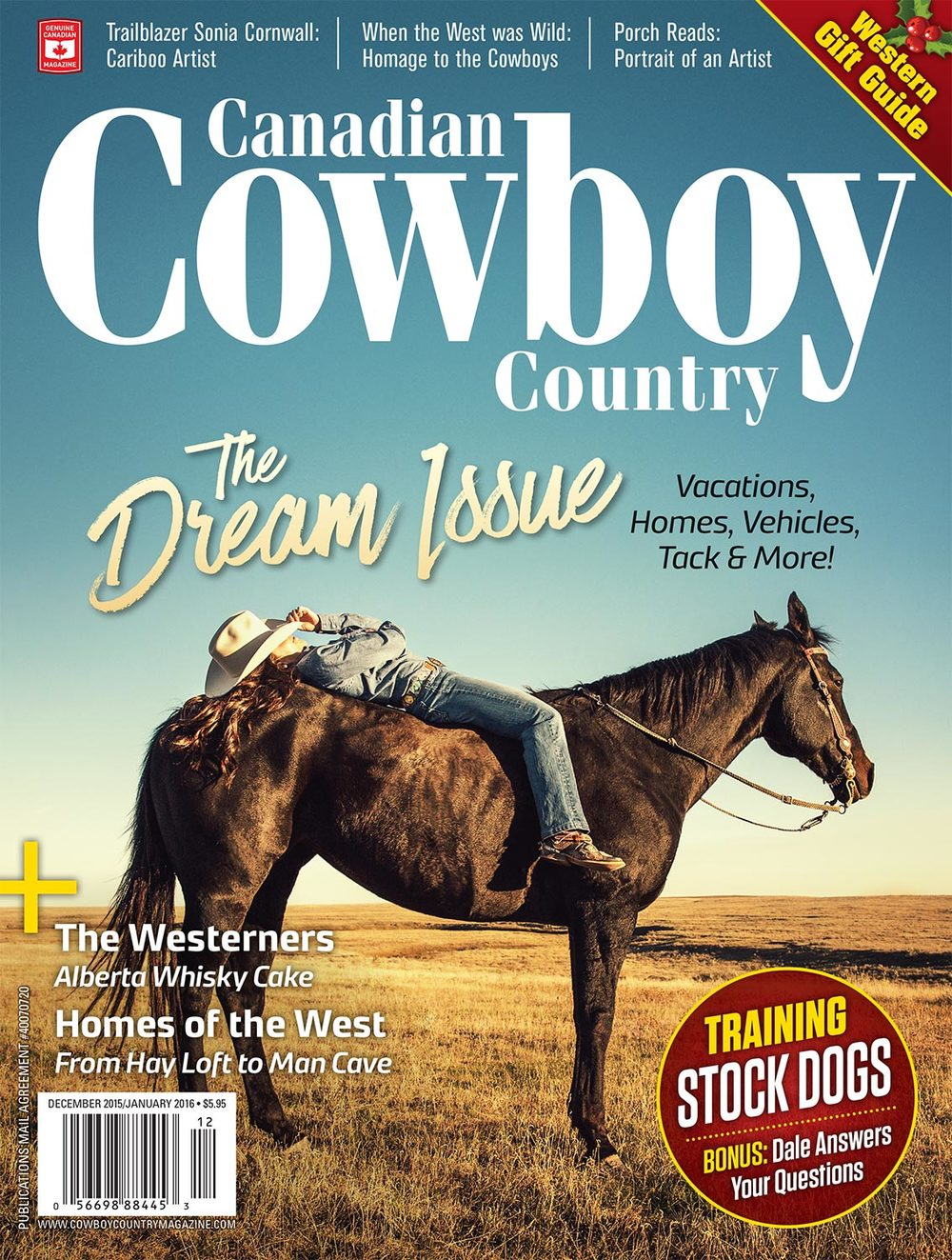 Canadian Cowboy Country Cover Photo