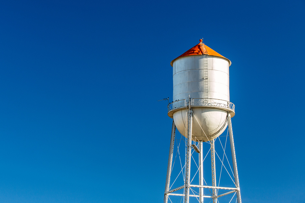 Small Town Water Tower