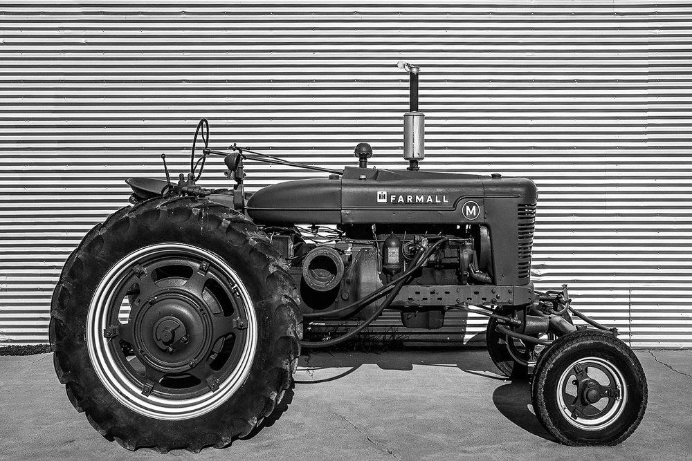 An old antique International Harvester Farmall M tractor in Redstone, Montana.   → Buy a Print