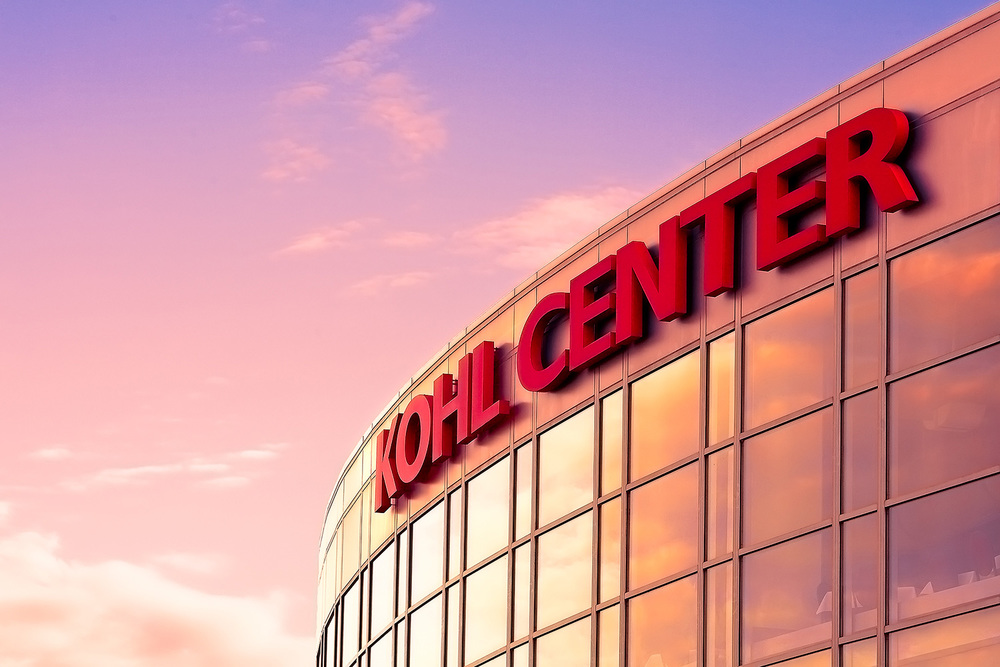 Kohl Center Illuminated
