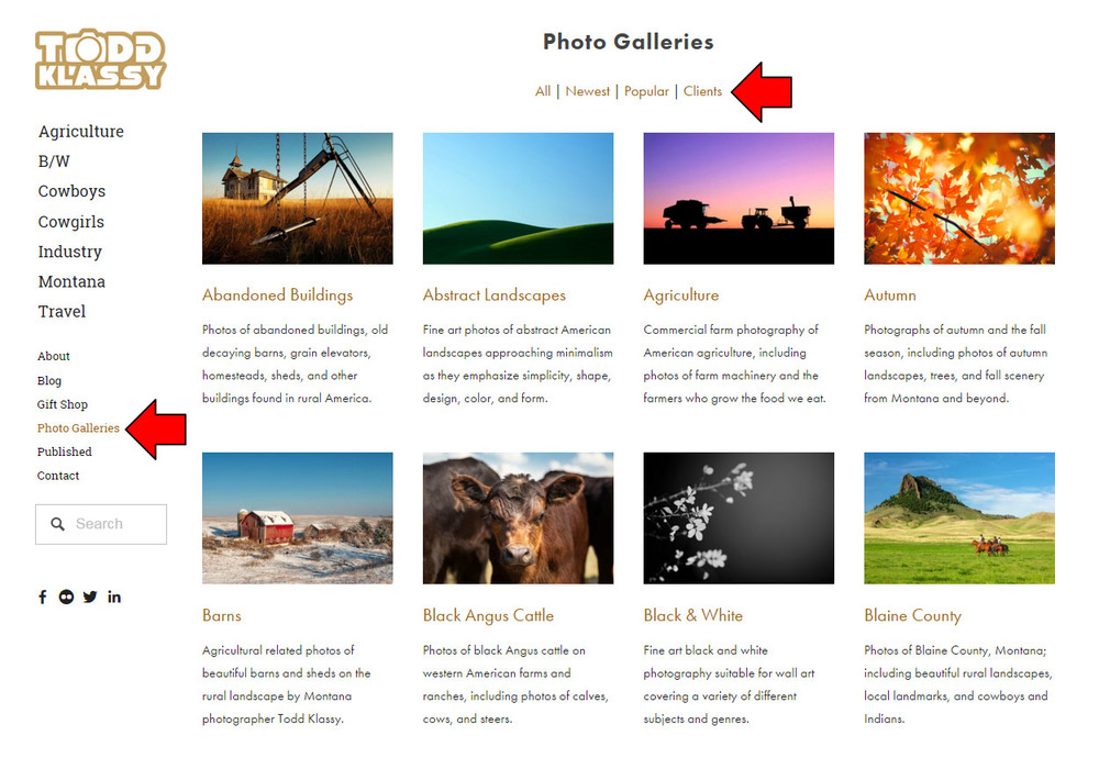 All of my photo galleries have been organized in one place and many more photo galleries will be added in the future.