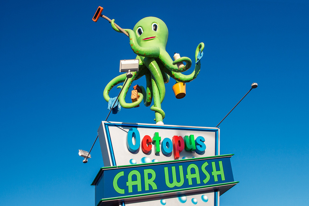 Octopus Car Wash