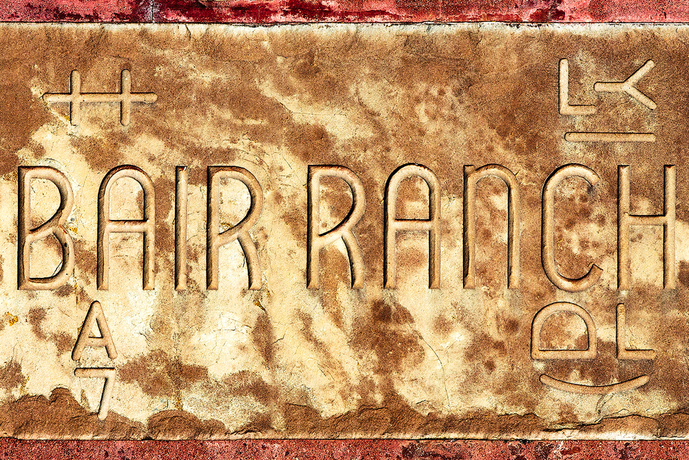 Bair Ranch Sign