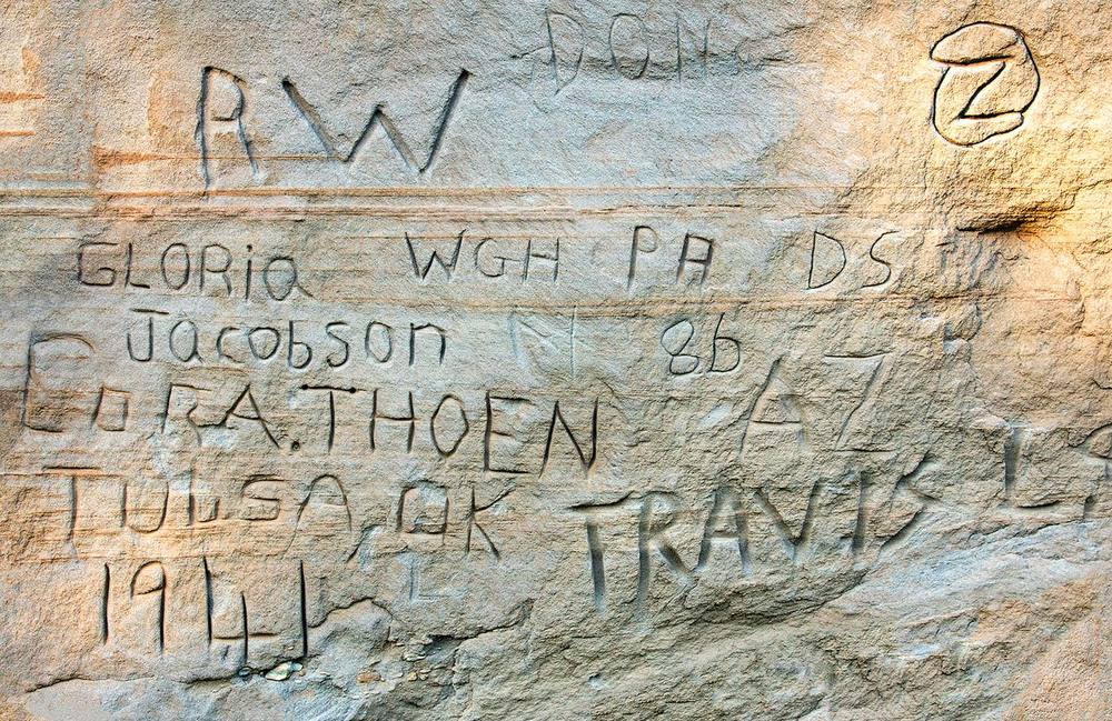 Sandstone Graffiti