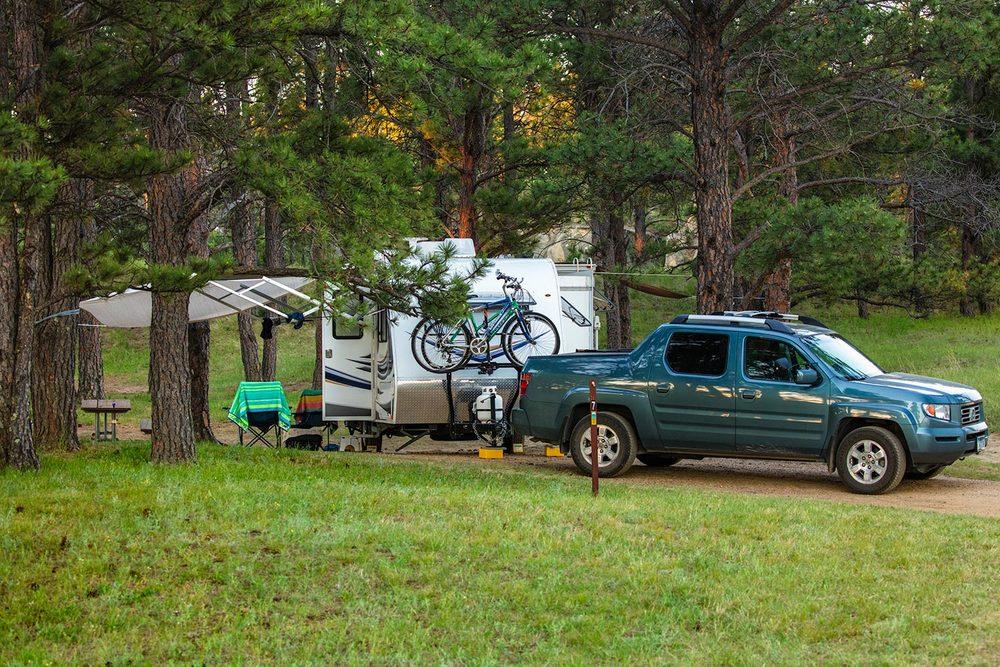 Medicine Rocks Campers