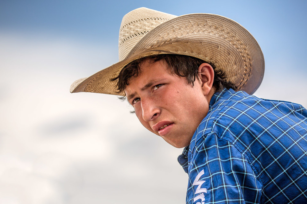 Rodeo Portrait