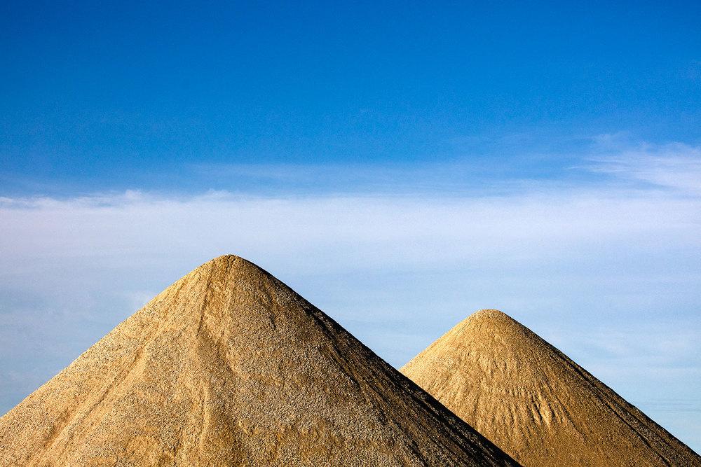 Gravel Pyramids