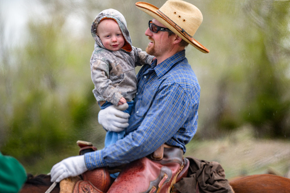 Father and Son Ride