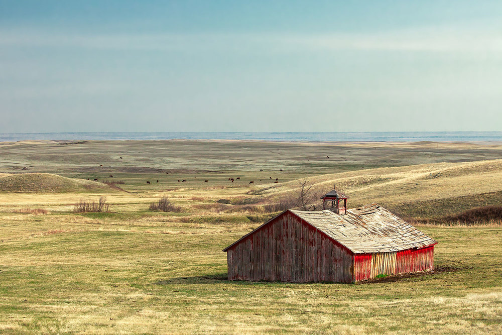 Old Barn on the Plains
