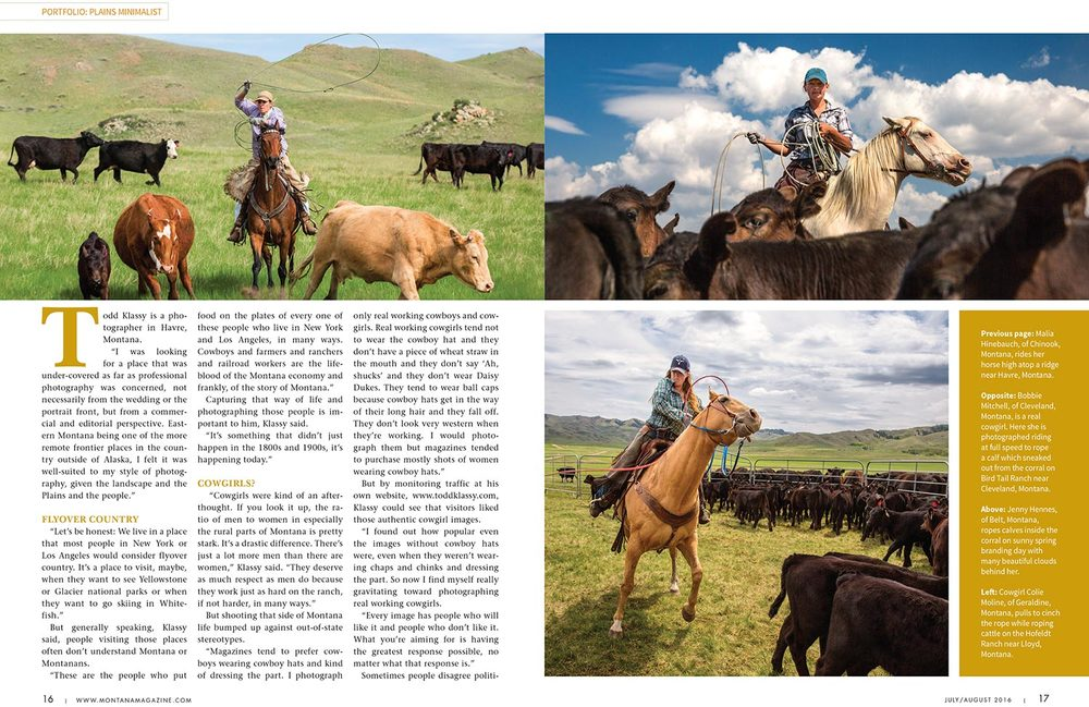 Montana Magazine Photo Essay