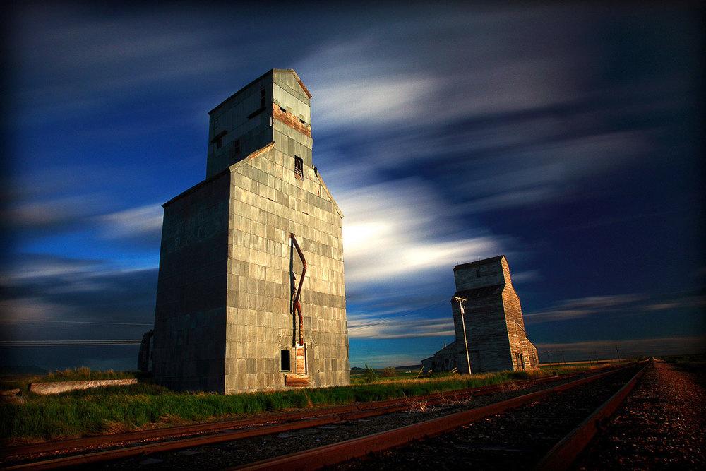 Old Grain Elevators