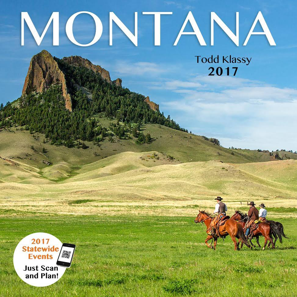 Todd Klassy 2017 Montana Photo Calendar Cover