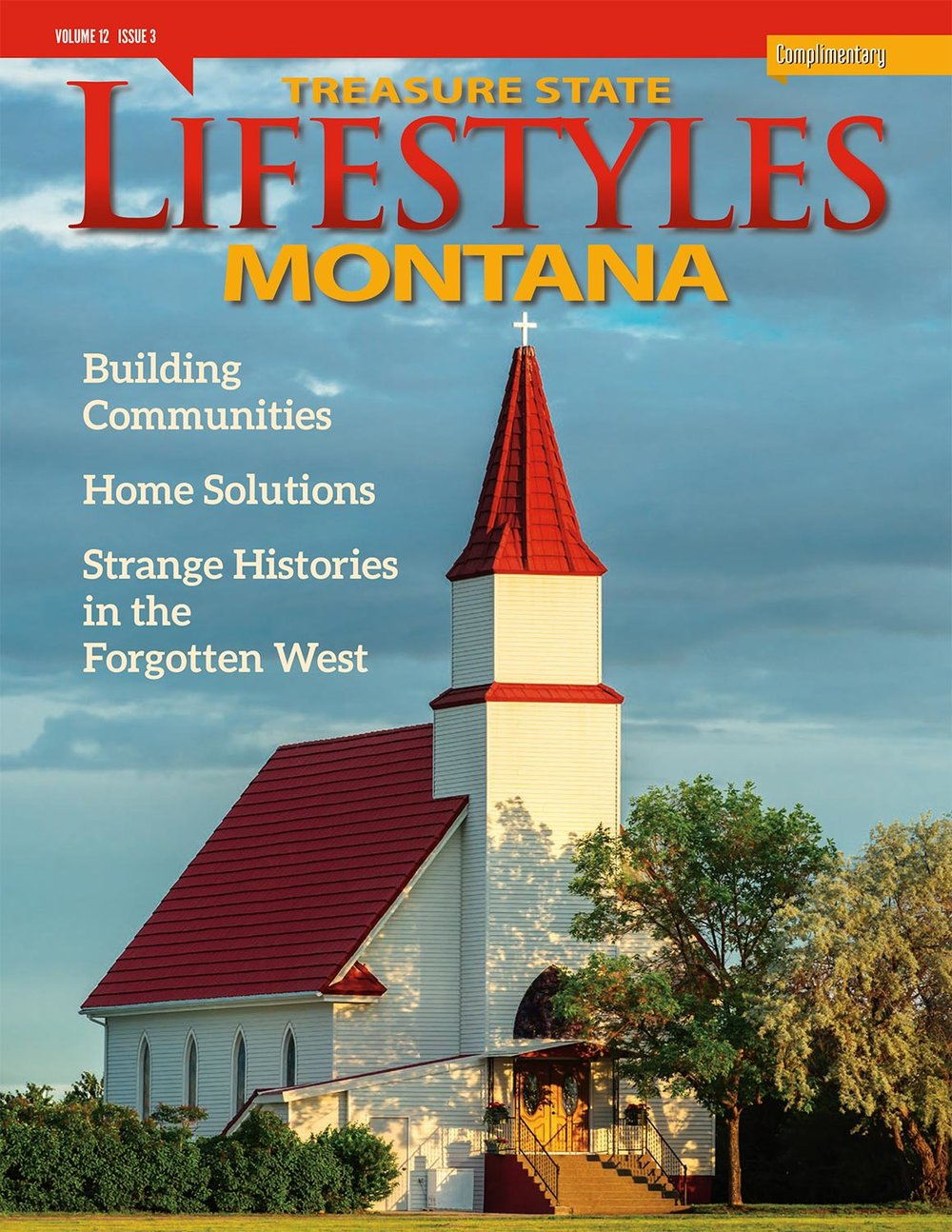 My photograph of the church in Hogeland, Montana appears on the cover of this month's issue of Montana Lifestyles Magazine.