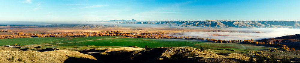 Judith Landing Panorama