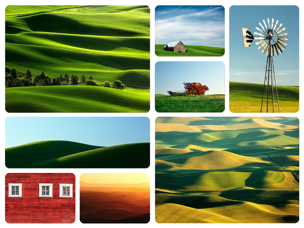 Photos of the Palouse Region of Washington