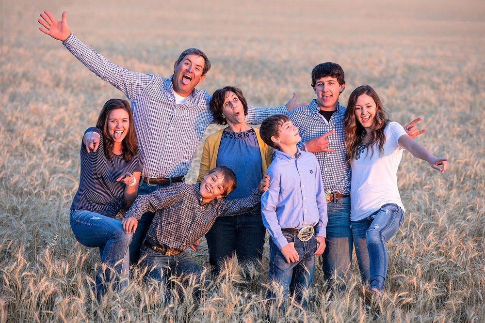Harmon Family Photo