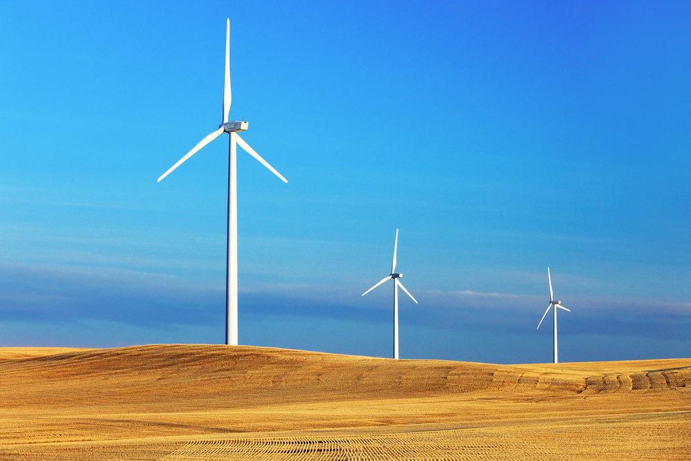 Three Turbines