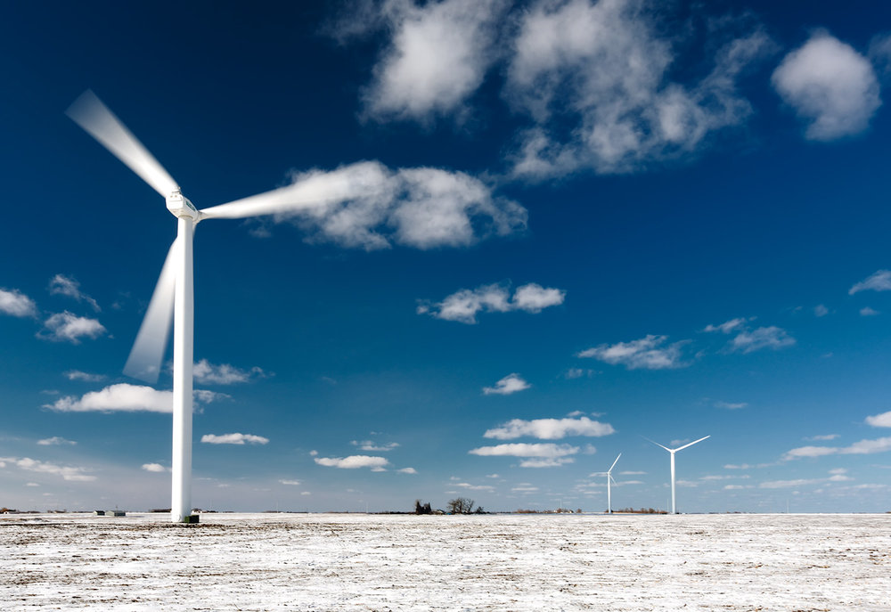 Turbines in the Snow