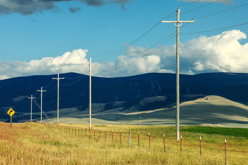 Rural Power Line