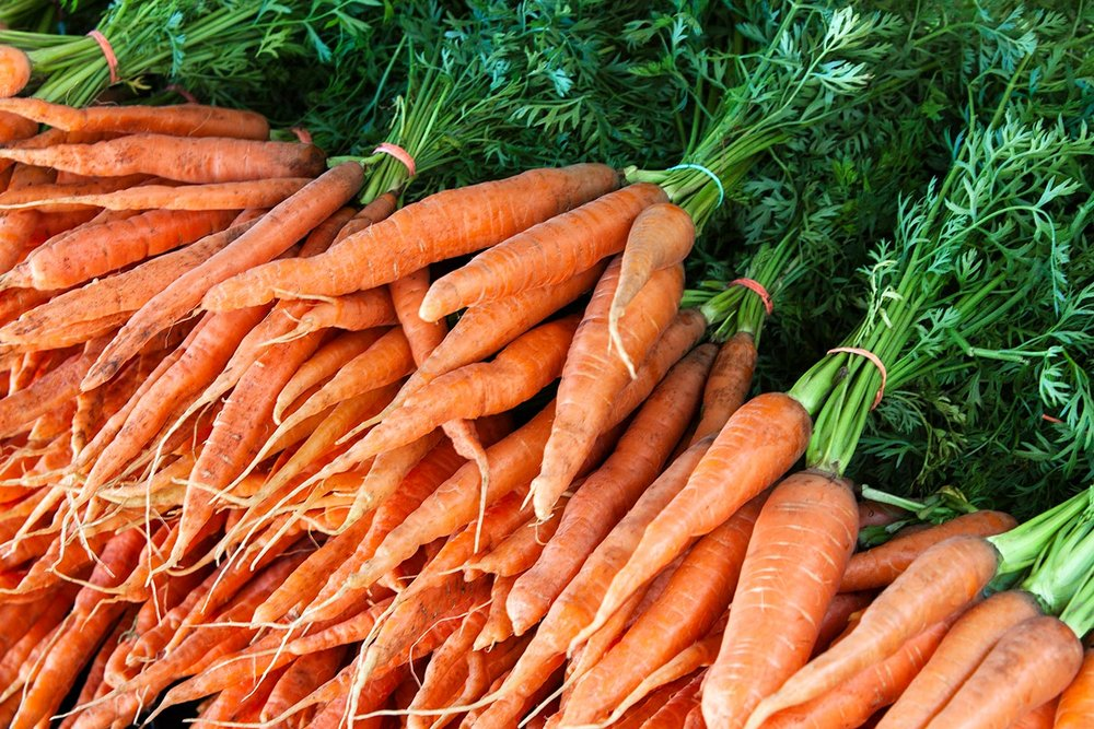Crates of Carrots