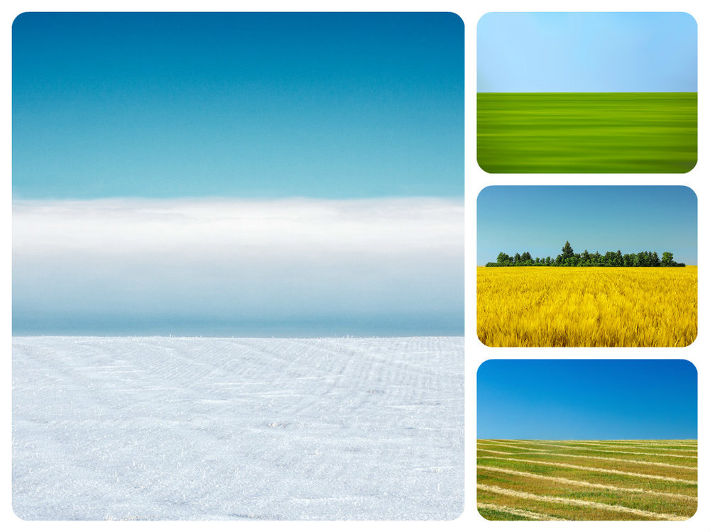 Photos of Landscapes That Are Clean and Abstract