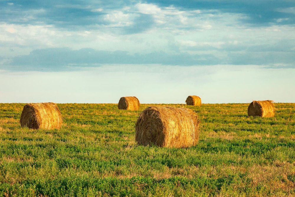 Agriculture Stock Photos And Commercial Photographer By Todd Klassy - Bales