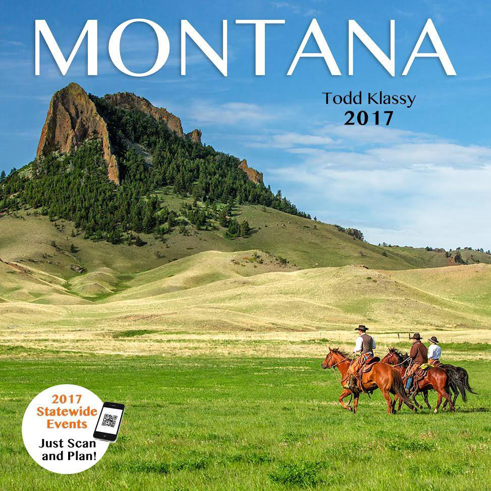 A copy of my 2017 Montana calendar is a great stocking stuffer for Christmas.