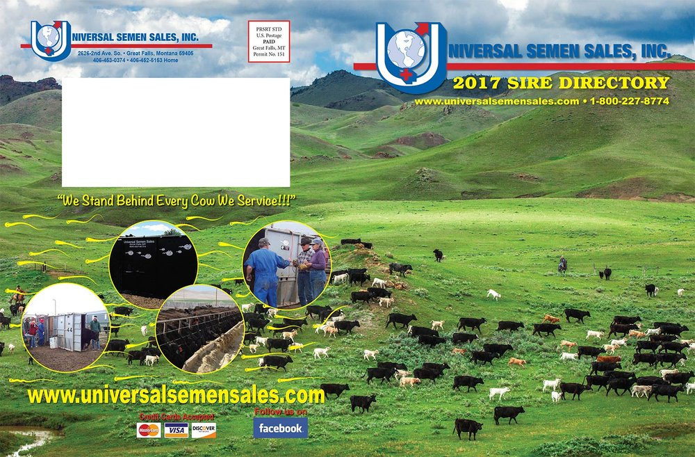 Montana Agriculture Photography Cover Sire Directory