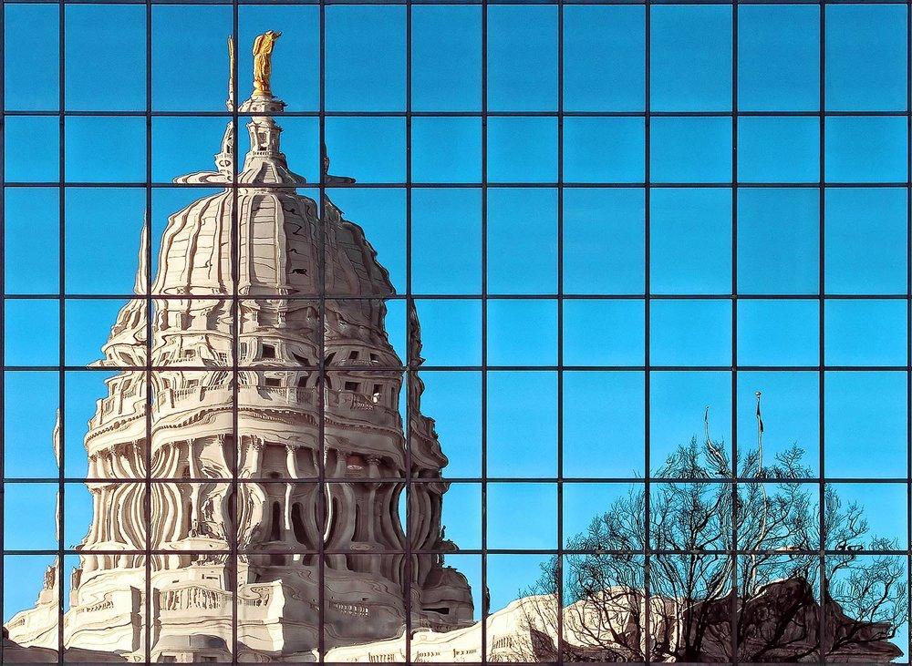 Capital City Reflection