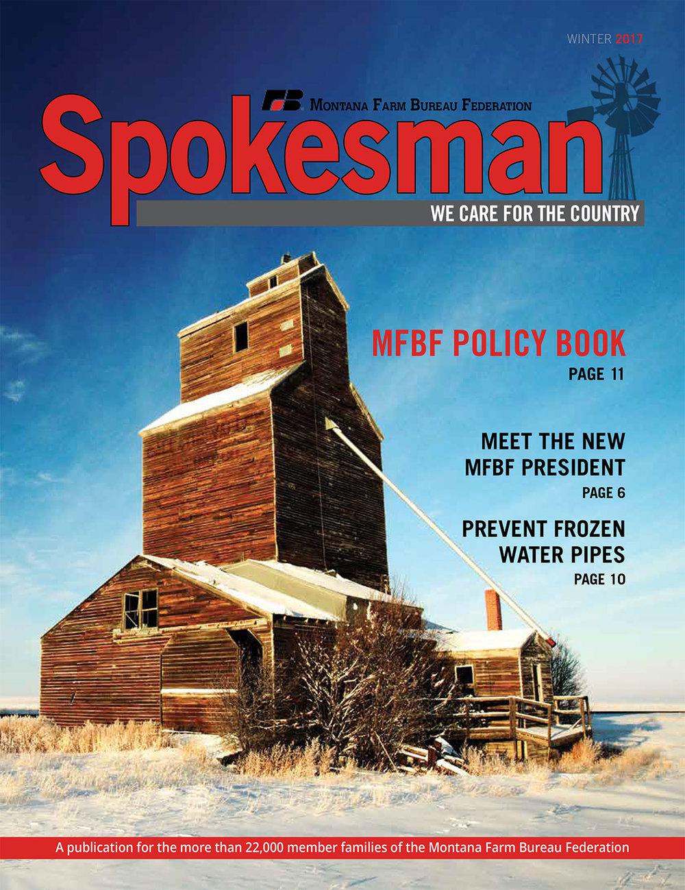 Photos-of-Montana-Grain-Elevators-Published-on-Cover-of-Montana-Farm-Bureau-Magazine