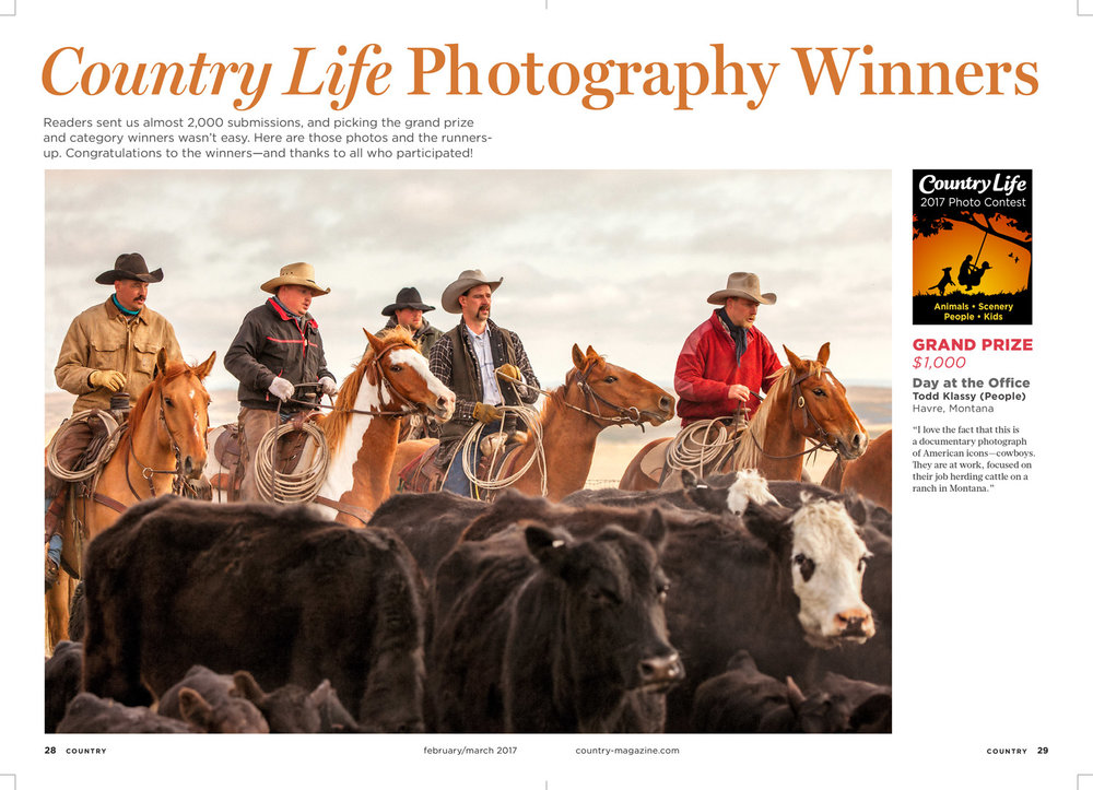 Country Magazine Winning Photo