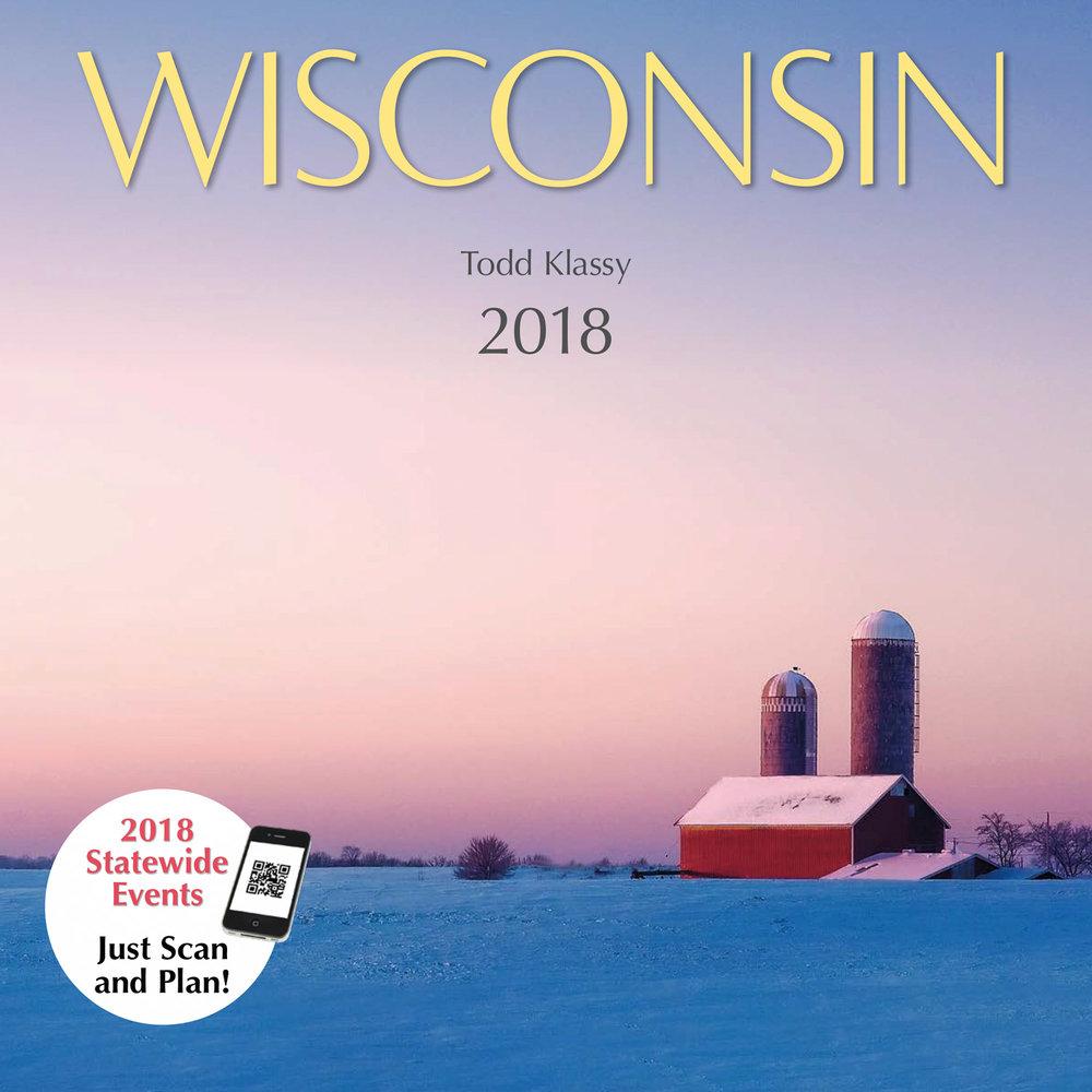 2018 Wisconsin Calendar