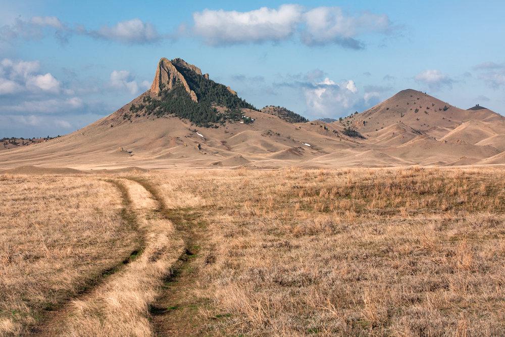Birdtail Butte Trail
