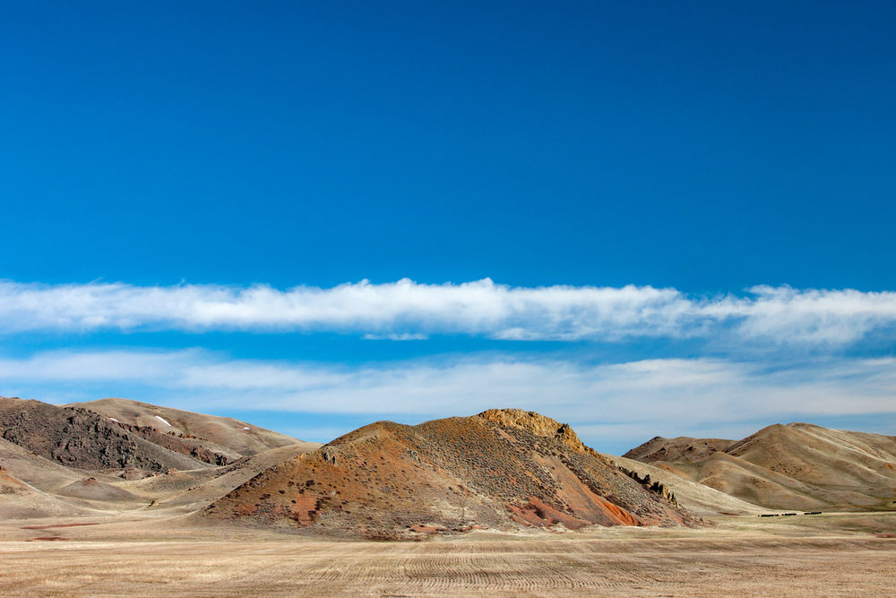 Orange Rock Butte