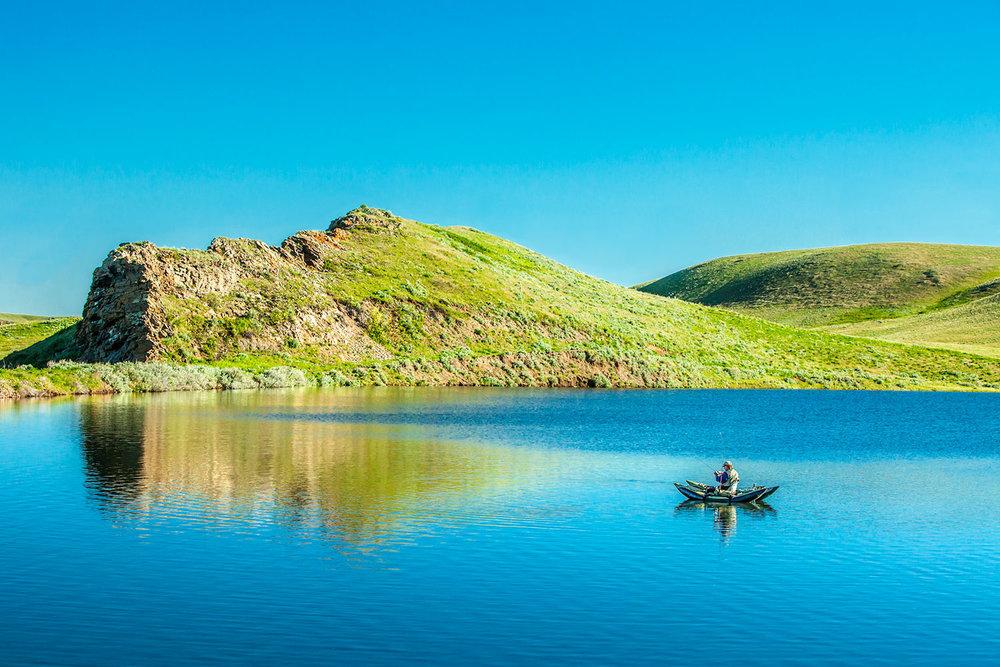 Faber Reservoir Fishing