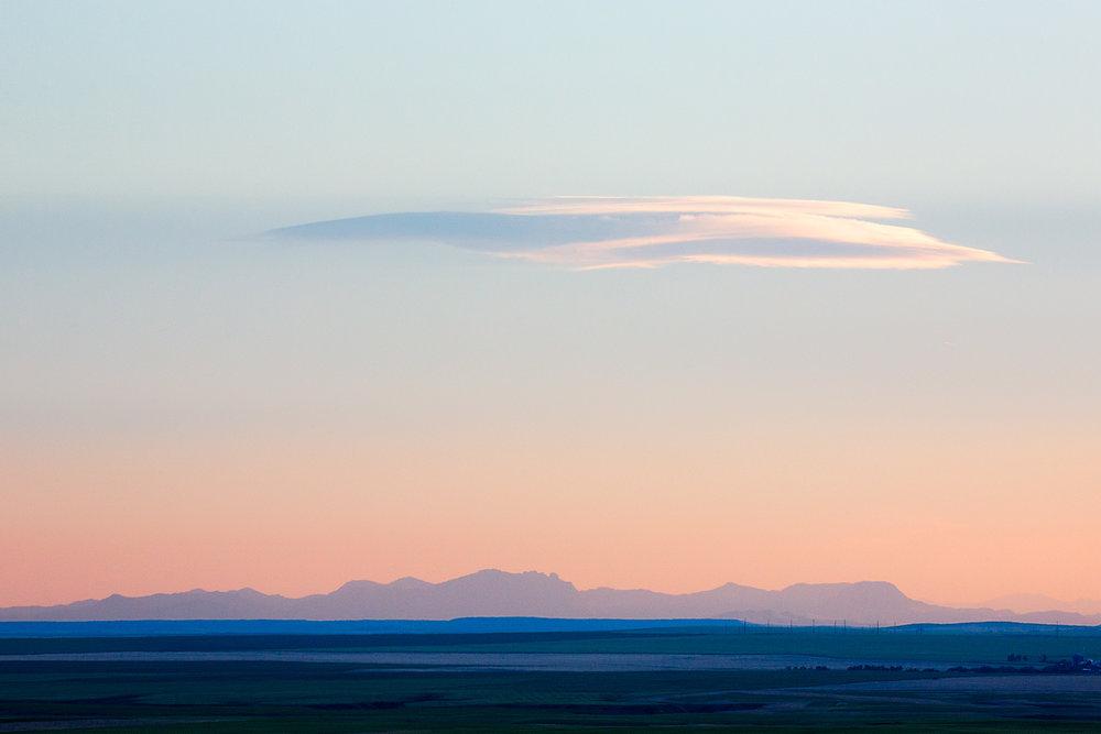 Adel Mountain Sunset