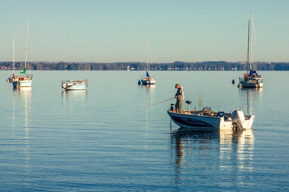 Lake Mendota Fishing