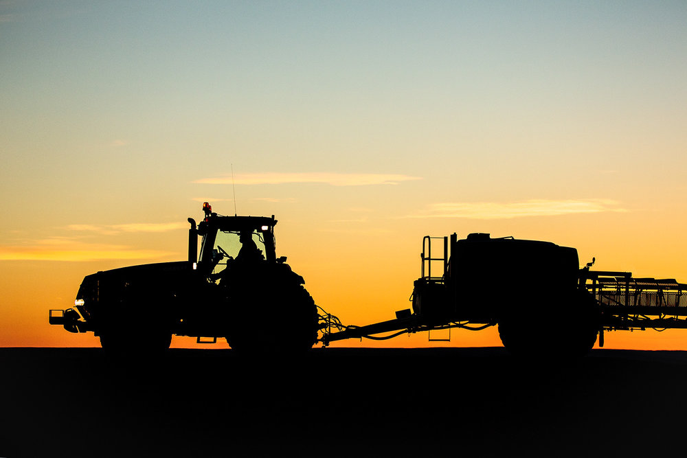Farm Equipment Silhouette