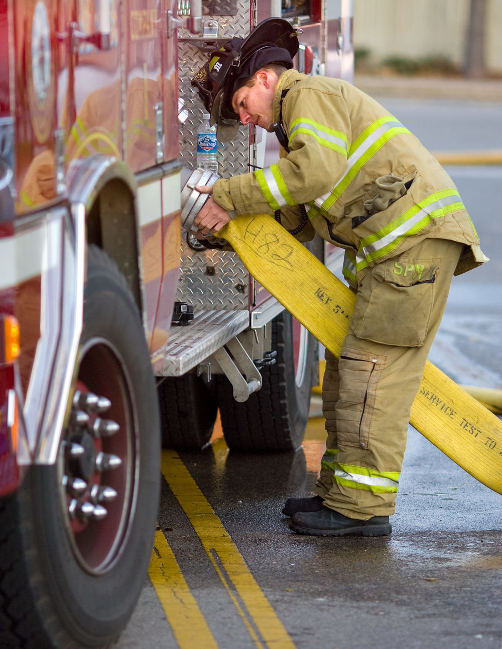 Attaching a Hose